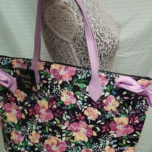 Handbags - Large floral tote NWT